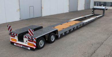 Extra-low bed loader 2 axles. Pendular GRS2 (2X)
