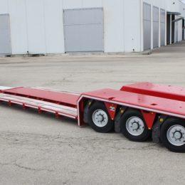 Low bed loader 3 axles. GRS3 (1X) Pendular