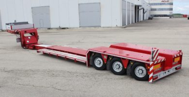 Low bed loader 3 axles. GRS3 (1X) Pendular