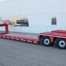 Extra-low bed loader 2 axles. GRS2 (1X) Pendular