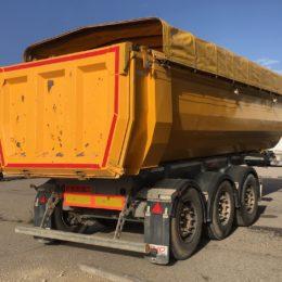 Public Works steel tipper AluHARD 450+ 2016. 24m3. Dead weight 5.250 kg