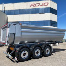 Basculante  ROJO AluHARD450+. 26 m3. 5.400Kg Ref: OP7442